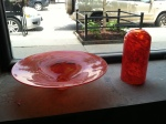 made in Chicago: custom glass sink basin and pendant light shade