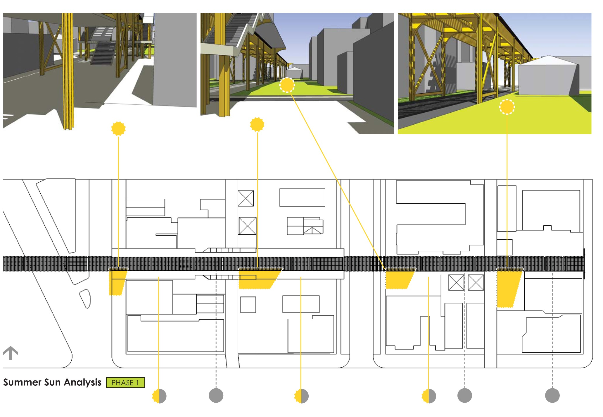 moss green architect site plan sun