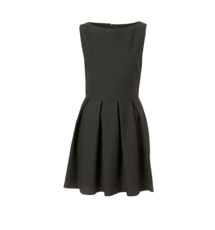 moss little black dress minimalism