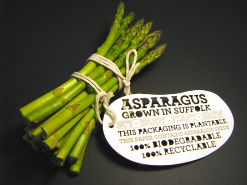 ben huttly biodegradable vegetable tags moss architect biodegradable packaing